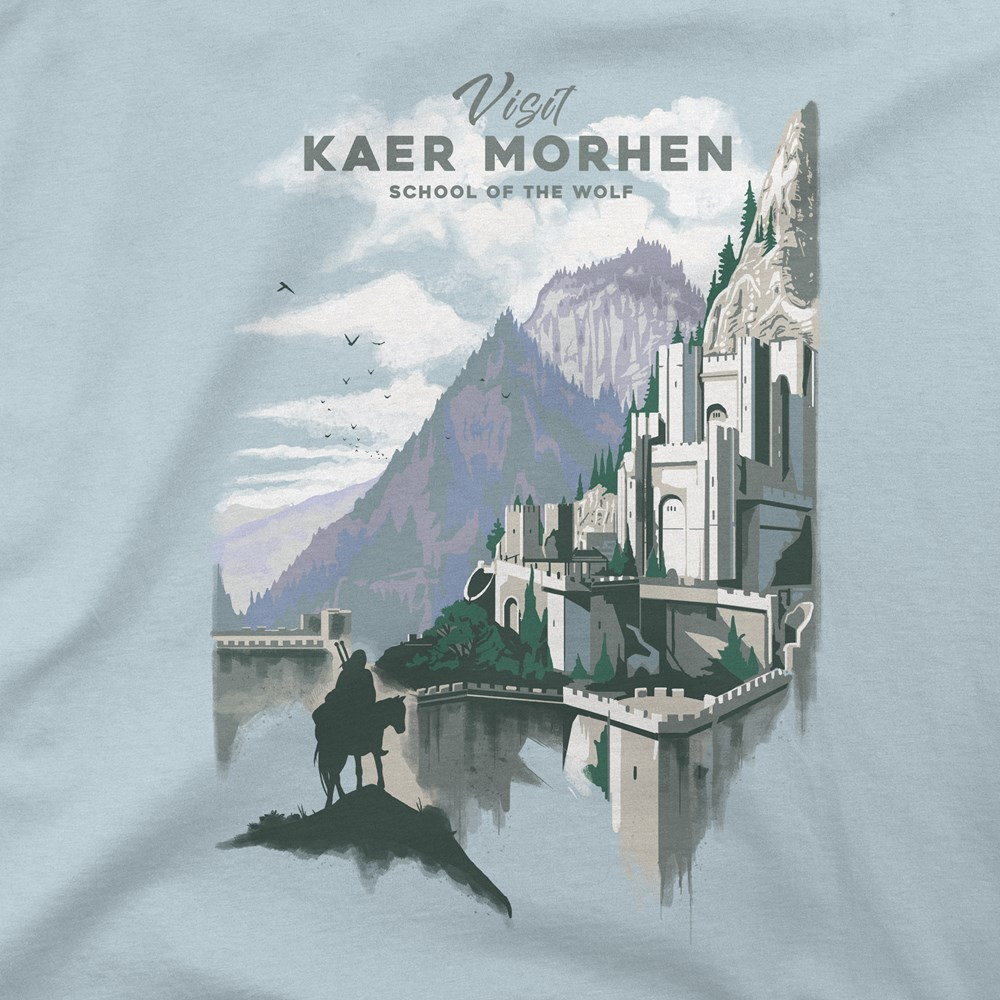 The Witcher 3 Visit Kaer Morhen T-shirt Design design