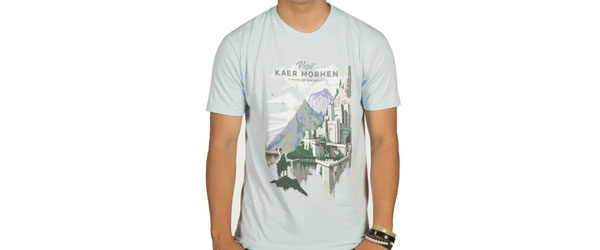 The Witcher 3 Visit Kaer Morhen T-shirt Design main image
