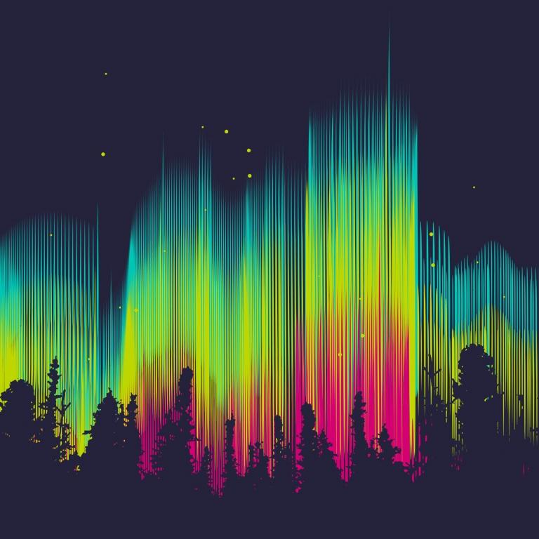 ELECTRIC SKY T-shirt Design by AJ Dimarucot main