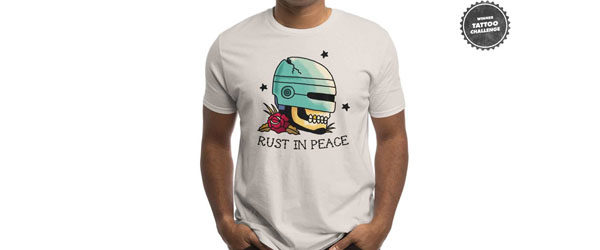 RUST IN PEACE T-shirt Design by Michael Buxton main image