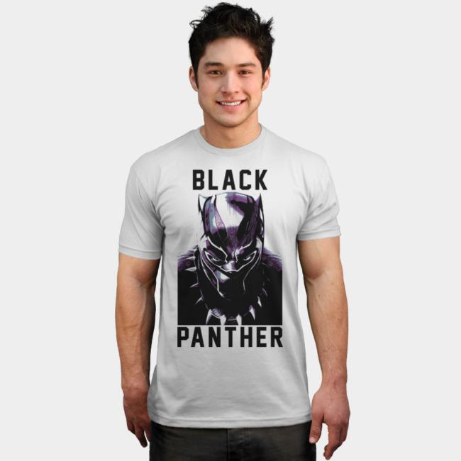 T'Challa Glare T-shirt Design by Marvel man