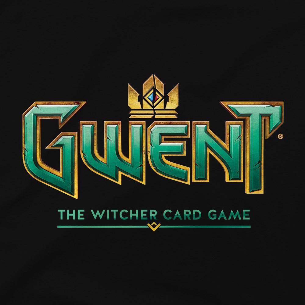The Witcher 3 Gwent Classic Logo Premium Tee design