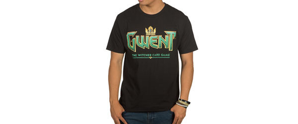 The Witcher 3 Gwent Classic Logo Premium Tee tee main