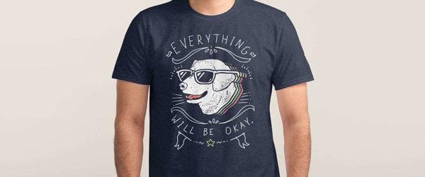WHOLESOME PUPPER T-shirt Design by Ronan Lynam woman design