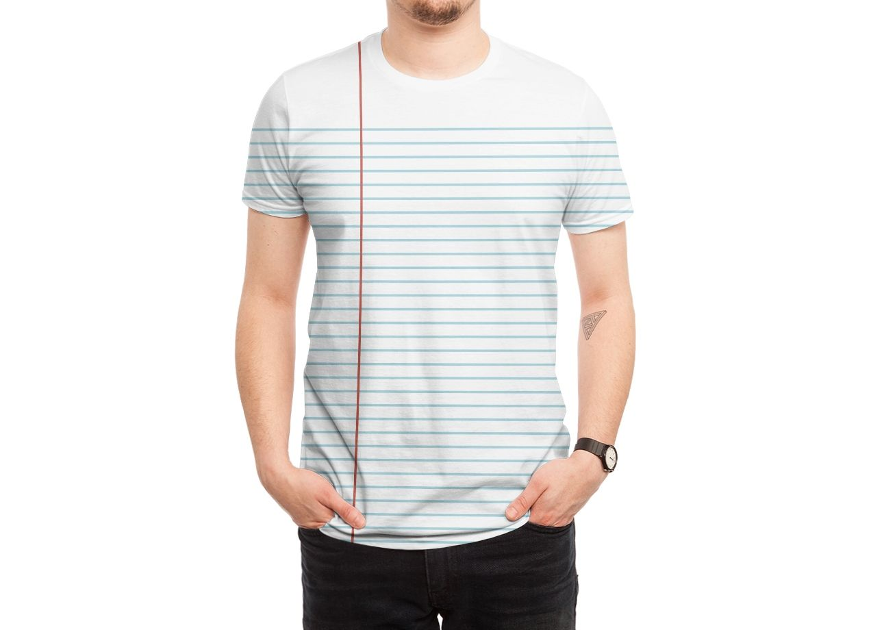 FOOT LOOSE LEAF T-shirt Design by Cody Weiler man