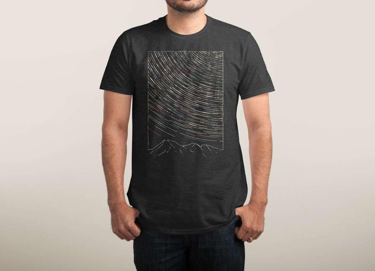 STAR TRAILS T-shirt Design by aparaat man