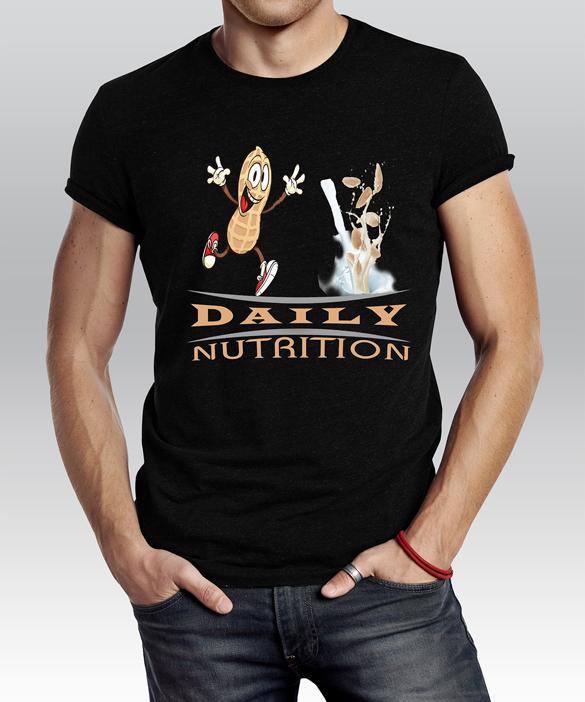 Daily Nutrition T-Shirt, illustration by Raihanul Islam
