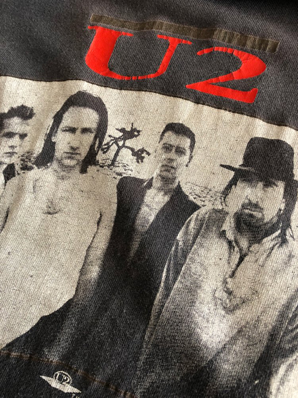 Vintage U2 - Joshua Tree 1987 Tour Shirt
