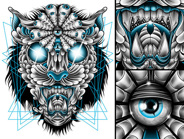'Jaguar' T-shirt design by Pale Horse
