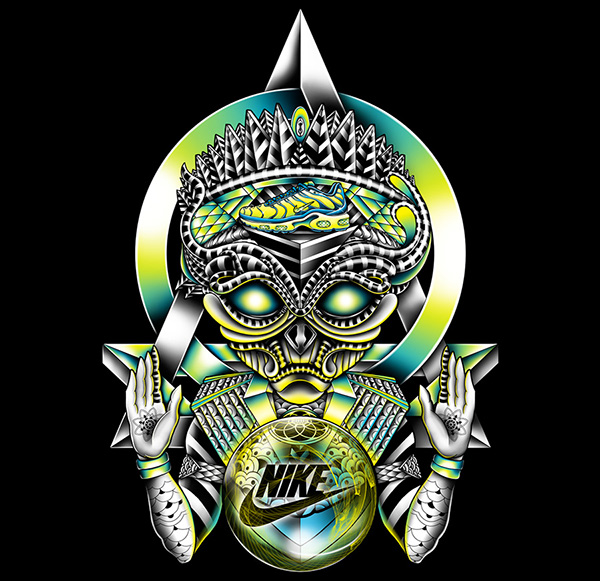 NIKE: King of the Sneakerheads T-shirt design