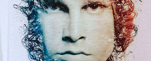 Stunning Jim Morrison t-shirt design