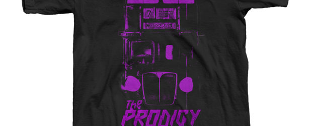 The Prodigy, No Tourists T-Shirt design