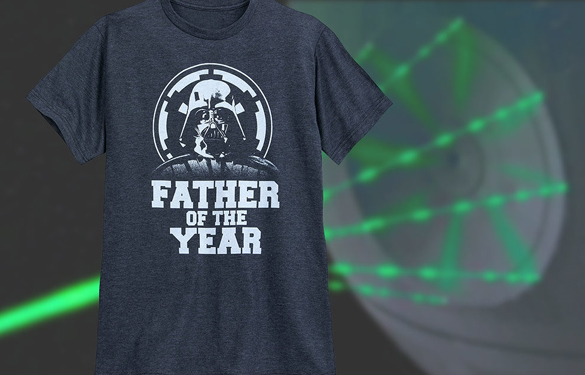 "75f51a4c3 Darth Vader ""Father of the Year"" t-shirt design - Fancy T-shirts"