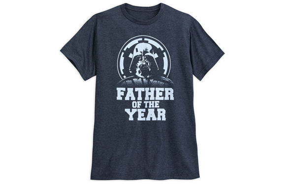 "Darth Vader ""Father of the Year"" t-shirt design"