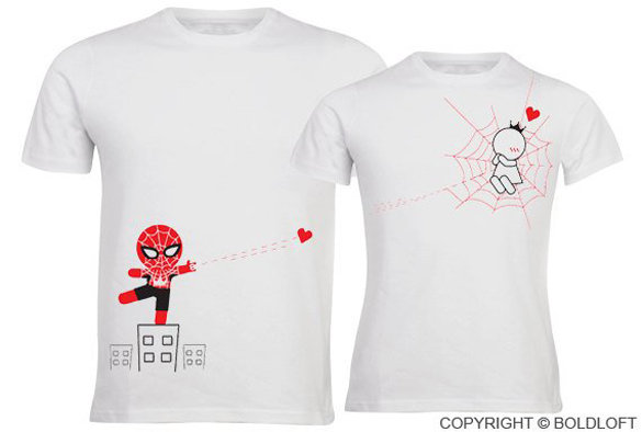 His & Hers Couple Shirts design by BoldLoft®