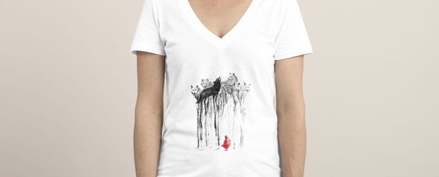 Into the Woods, t-shirt design by 38Sunsets