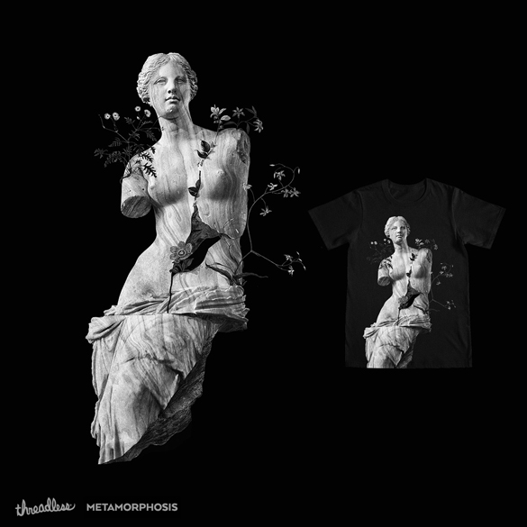 Marble t-shirt design by 38Sunsets