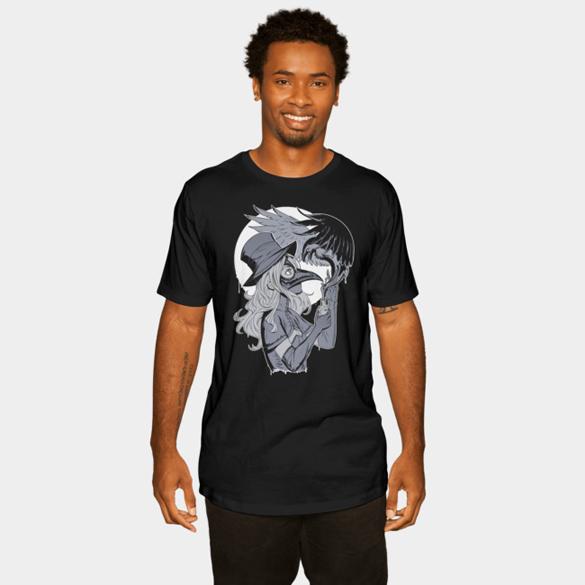 Plague Doctor t-shirt design by Nakanoart