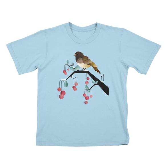 Bird, Watching - t-shirt design
