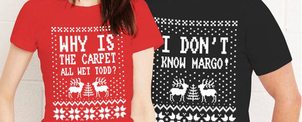 ea22d009eb Why is the carpet all wet todd, Christmas couple t-shirts design