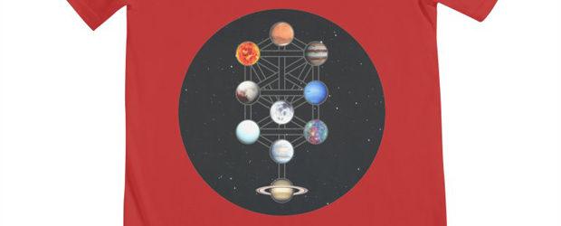 Esoteric Collection - Space Kabbalah 01 t-shirt design