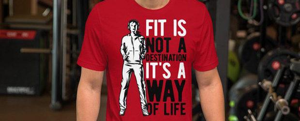 Fitness Motivational Running Sports t-shirt design