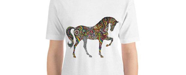 Horse unisex t-shirt design