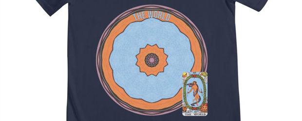 Tarot of Cyclicity 22 The World t-shirt design