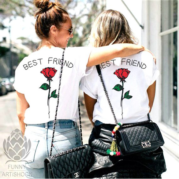 Best Friends t-shirts design