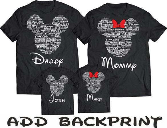 08395ff5 Disney Family t-shirt design - Fancy T-shirts