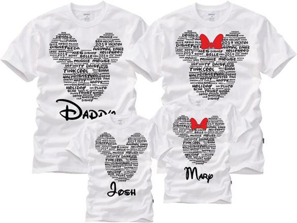 Disney Family t-shirt design