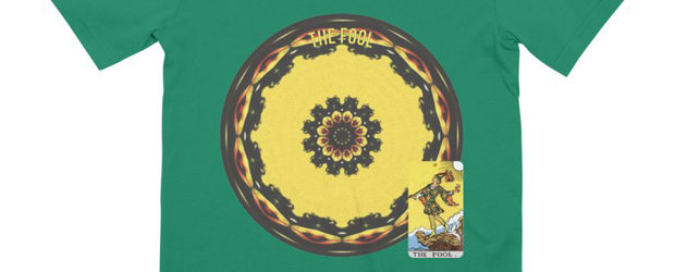 Tarot of Cyclicity 0-21 The Fool t-shirt design
