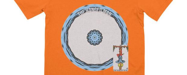 Tarot of Cyclicity 12 The Hanged Man t-shirt design