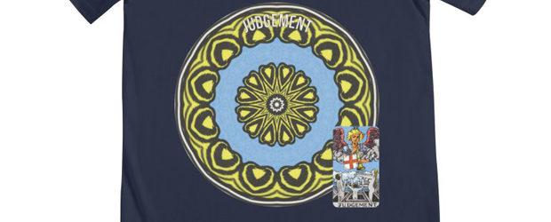 Tarot of Cyclicity 20 Judgement t-shirt design