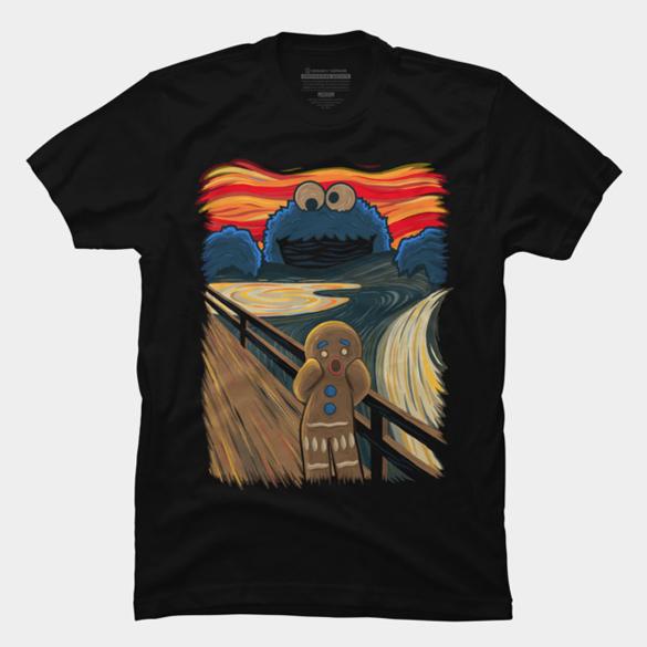 The Cookie Muncher t-shirt design