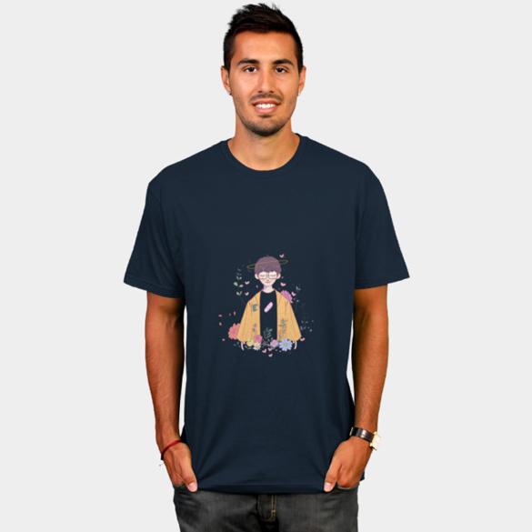 Flower t-shirt design