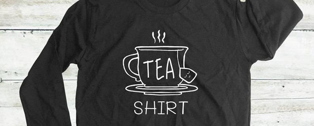 Tea lover shirt design