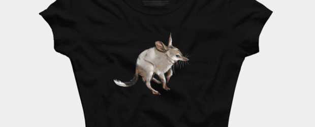 BILBY - marsupial love - t-shirt design