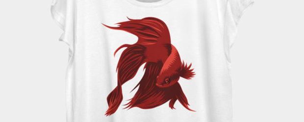 Betta t-shirt design