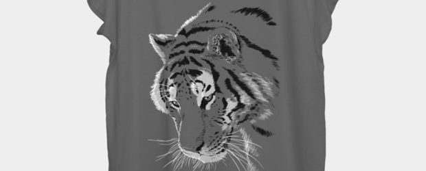 Tiger t-shirt design