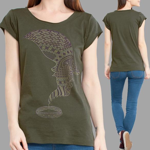 Icaruna Women T-Shirt design