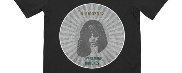 R.I.P. Rockstars Joey Ramon t-shirt design
