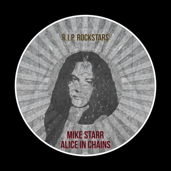 R.I.P. Rockstars Mike Starr t-shirt design