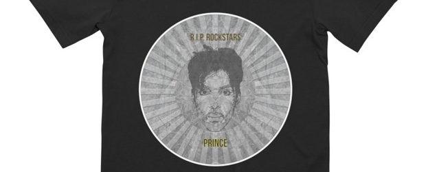 R.I.P. Rockstars Prince t-shirt design