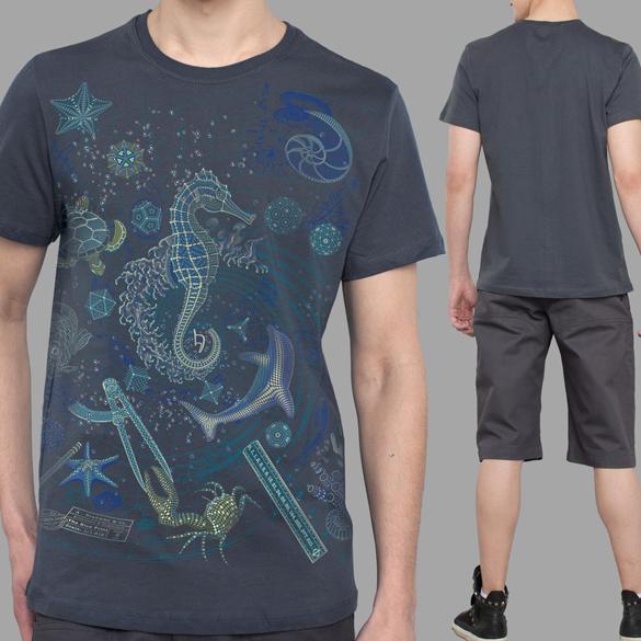 The Blue Print 2 Sea t-shirt design