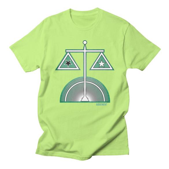 AHT Judgement t-shirt design