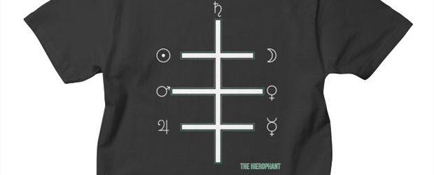 AHT The Hierophant t-shirt design