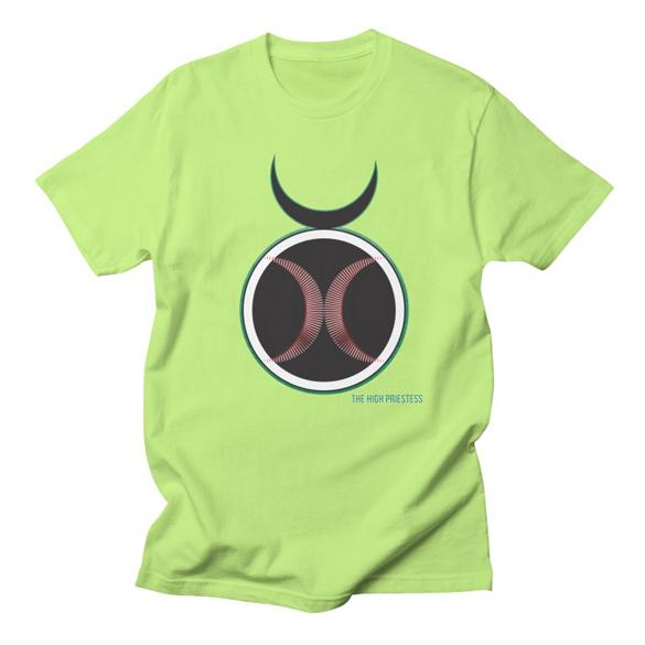 AHT The High Priestess t-shirt design