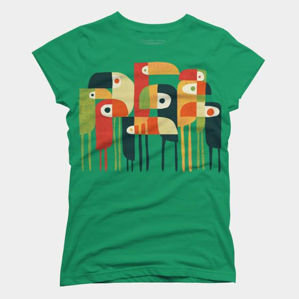 Bird Family t-shirt design