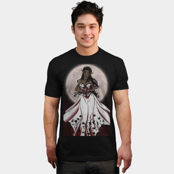 Black Lily t-shirt design